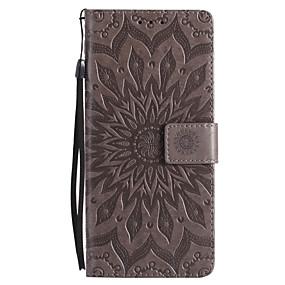 Недорогие Чехлы и кейсы для Galaxy Note 8-Кейс для Назначение SSamsung Galaxy Note 8 / Note 5 / Note 4 Кошелек / Бумажник для карт / со стендом Чехол Мандала Твердый Кожа PU