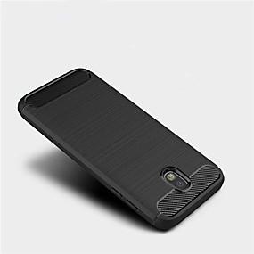 저렴한 Galaxy J5(2016) 케이스 / 커버-케이스 제품 Samsung Galaxy J7 (2017) / J7 (2016) / J5 Prime 반투명 뒷면 커버 솔리드 소프트 TPU