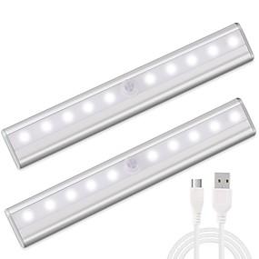olcso Ajándék fények-1set LED éjszakai fény USB Infravörös érzékelő