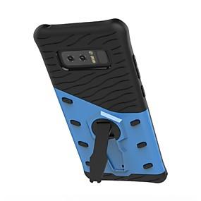 Недорогие Чехлы и кейсы для Galaxy Note 8-Кейс для Назначение SSamsung Galaxy Note 8 / Note 5 Поворот на 360° / Защита от удара / со стендом Кейс на заднюю панель броня Твердый ТПУ