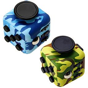 ieftine Jucării educaționale-Fidget Jucarii Fidget Cube Cuburi Magice Noutate Cauciuc siliconat Plastic Pentru copii Adulți Jucarii Cadou