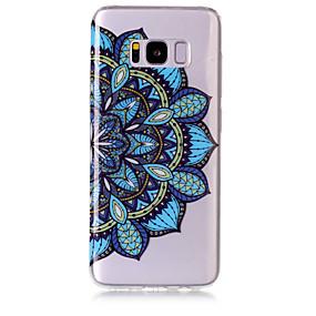 voordelige Galaxy S7 Hoesjes / covers-hoesje Voor Samsung Galaxy S8 Plus / S8 / S7 edge IMD / Transparant / Patroon Achterkant Mandala Zacht TPU