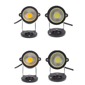 povoljno LED reflektori-4kom 5 W travnjak svjetla Vodootporno / Ukrasno Toplo bijelo / Hladno bijelo 12 V / 85-265 V Vanjska rasvjeta / Dvorište / Vrt 1 LED zrnca