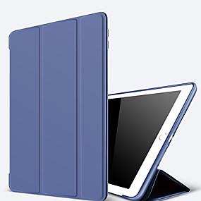 povoljno Happy New Year-Θήκη Za Apple iPad Air / iPad 4/3/2 / iPad Mini 3/2/1 sa stalkom / Auto Sleep / Wake Up Korice Jednobojni Tvrdo PU koža / iPad Pro 10.5 / iPad 9.7 (2017)