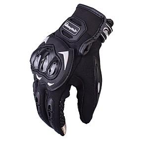 Недорогие Мотоциклетные перчатки-верховая езда мотоцикл перчатки гоночные перчатки байкер перчатки мотоцикл мотоцикл перчатки велосипедные мотокроссы перчатки mcs17 gants