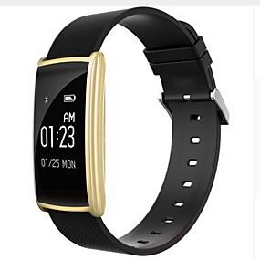 رخيصةأون الأساور الذكية-سوار الذكية YYn108 إلى iOS / Android / iPhone مؤقت / عداد الخطى / متتبع النوم / تذكير المستقرة / أجد هاتفي / ساعة منبهة / حساس الجاذبية / حساس التقريب / حساس الدوران / حساس نسبة القلب