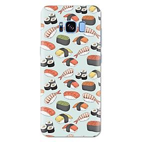 voordelige Galaxy S7 Edge Hoesjes / covers-hoesje Voor Samsung Galaxy S8 Plus / S8 / S7 edge Patroon Achterkant Voedsel Zacht TPU