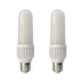 povoljno LED klipaste žarulje-2pcs 18 W LED klipaste žarulje 1460 lm E27 T 96 LED zrnca SMD 2835 Toplo bijelo Bijela 220-240 V