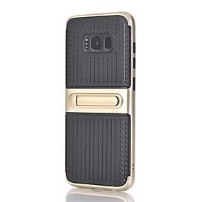 Недорогие Чехлы и кейсы для Galaxy Note 8-Кейс для Назначение SSamsung Galaxy Note 8 со стендом Кейс на заднюю панель Полосы / волосы Твердый ПК