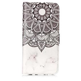 voordelige Galaxy S7 Hoesjes / covers-hoesje Voor Samsung Galaxy S8 Plus / S8 / S7 edge Portemonnee / Kaarthouder / met standaard Volledig hoesje Mandala Hard PU-nahka