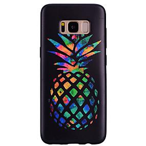 voordelige Galaxy S7 Edge Hoesjes / covers-hoesje Voor Samsung Galaxy S8 Plus / S8 / S7 edge Patroon Achterkant Fruit Zacht Siliconen