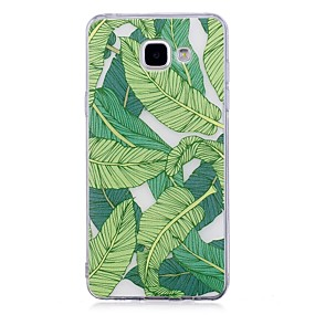 voordelige Galaxy A5(2016) Hoesjes / covers-hoesje Voor Samsung Galaxy A3 (2017) / A5 (2017) / A5(2016) IMD / Transparant / Patroon Achterkant Boom Zacht TPU