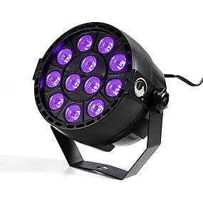رخيصةأون الحديقة والمنزل-U'King 12 W 12 الخرز LED أضواء LED مسرح بنفسجي 100-240 V / بنفايات / CE / FCC