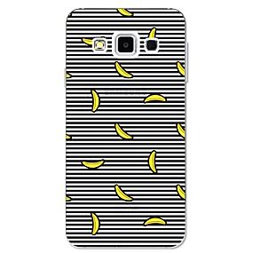 voordelige Galaxy A5(2016) Hoesjes / covers-hoesje Voor Samsung Galaxy A3 (2017) / A5 (2017) / A7 (2017) Patroon Achterkant Lijnen / golven / Fruit Zacht TPU