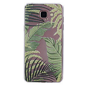 voordelige Galaxy A3(2016) Hoesjes / covers-hoesje Voor Samsung Galaxy A3 (2017) / A5 (2017) / A5(2016) Transparant / Patroon Achterkant Tegel Zacht TPU