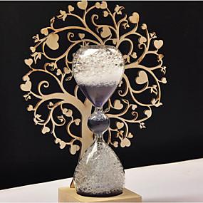 levne Home Fragrances-Módní a moderní Dřevo Svícny Svícen 1ks, Svíčka / držák svíčky