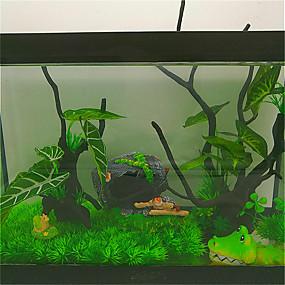 halpa Akvaario Siivousvälineet-Akvaario Other Musta Muu materiaali 45 cm