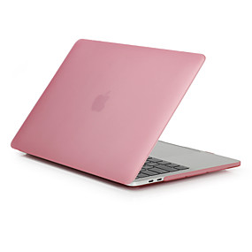 "povoljno MacBook Pro 15"" maske-MacBook Slučaj Mutno Prozirno / Jednobojni Polikarbonat za MacBook Pro 13"" / MacBook Air 11"" / MacBook Pro 13-inch cu ecran Retina"