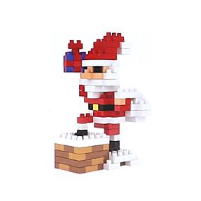 olcso Vakációs kellékek-Építőkockák 155 pcs Mikulás Karácsony Ünneő Emberek összeegyeztethető Legoing Karácsony Játékok Ajándék