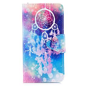 Недорогие Чехлы и кейсы для Galaxy J3(2016)-Кейс для Назначение SSamsung Galaxy J7 (2017) / J5 (2017) / J5 (2016) Кошелек / Бумажник для карт / со стендом Чехол Ловец снов Твердый Кожа PU