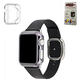olcso Kiárusítás-Nézd Band mert Apple Watch sorozat 5/4/3/2/1 Apple Modern csat Valódi bőr Csuklópánt