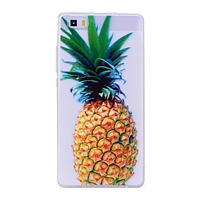 voordelige Huawei Honor hoesjes / covers-hoesje Voor Huawei P9 Lite / Huawei / Huawei P8 Lite P10 Lite / Huawei P9 Lite / P8 Lite (2017) Transparant / Patroon Achterkant Fruit Zacht TPU
