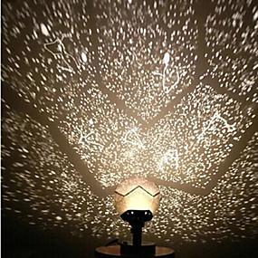 povoljno Igračke i razonoda-Noćno svjetlo zvijezde LED osvijetljenje Fantacy LED ABS Dječji Odrasli Igračke za kućne ljubimce Poklon 1 pcs