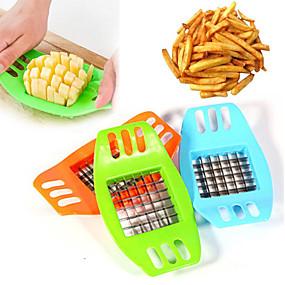 رخيصةأون أدوات & أجهزة المطبخ-البلاستيك بلاستيك بدعة مقلاة مبشرات ومقشرات, 17.3*10.3*2.0
