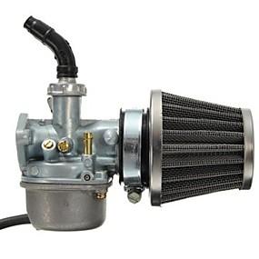 voordelige Motor- & ATV-onderdelen-pz19 carburateur carb en 35mm luchtfilter voor 50cc 70cc 80cc 90cc 110cc 125cc dirt pit bike taotao honda crf atv scooter bromfiets go karts