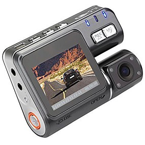 preiswerte Auto Elektronik-I1000 1080p Auto dvr 110 Grad Weiter Winkel 1.8 Zoll LCD Autokamera mit Bewegungsmelder 4 Infrarot-LEDs Auto-Recorder