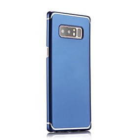 Недорогие Чехлы и кейсы для Galaxy Note 8-Кейс для Назначение SSamsung Galaxy Note 8 Рельефный Кейс на заднюю панель Однотонный Твердый ПК