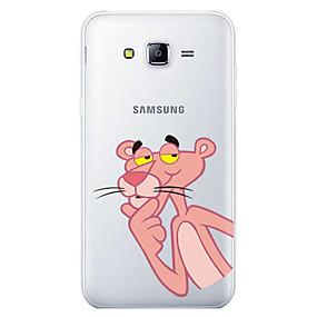voordelige Galaxy J5 Hoesjes / covers-hoesje Voor Samsung Galaxy J7 (2017) / J7 (2016) / J7 Patroon Achterkant Cartoon Zacht TPU