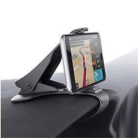 billige Køretøjsmonteret-Automotive Universal / Mobiltelefon Monter stativholder Instrumentbræt Universal / Mobiltelefon Buckle Type Plast Holder