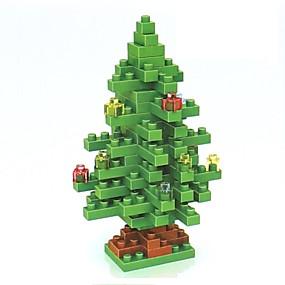 olcso Vakációs kellékek-Építőkockák LOZ Diamond Blocks Karácsony Virágos téma Ünneő összeegyeztethető Legoing Non Toxic DIY Karácsony Játékok Ajándék