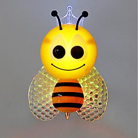 povoljno LED noćna rasvjeta-Zidna utičnica Nightlight Za djecu / Promjenjive boje / Kontrola svjetla Suvremena suvremena 1pc