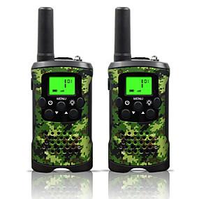 povoljno Tehnologija i gadgeti-dvosmjerni radio interfon 22 kanala 3 milje dugi dom djeca walkie talkieji dječaci djevojke igračke pokloni na baterije walky talky s lampom za vanjsko avanturističko kampiranje (camo)