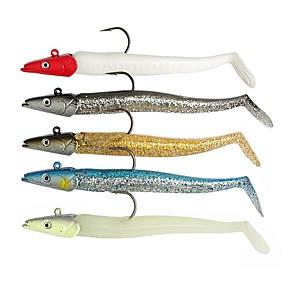 olcso Csalik,műlegyek-5 pcs Mamac za ribe Jig Head Lebegés Bass Pisztráng Csuka Tengeri halászat Csalidobó Folyóvíz horgászat PVC / Csali horgászat / Általános horgászat / Villantós & Csónakos horgászat