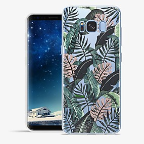 voordelige Galaxy S6 Edge Plus Hoesjes / covers-hoesje Voor Samsung Galaxy S8 Plus / S8 / S7 edge Patroon Achterkant Landschap Zacht TPU