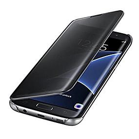 Недорогие Чехлы и кейсы для Galaxy J3(2017)-Кейс для Назначение SSamsung Galaxy J7 Prime / J7 (2017) / J5 Prime Покрытие / Зеркальная поверхность Чехол Однотонный Твердый ПК