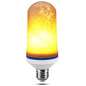 povoljno LED klipaste žarulje-led flamma effekt glödlampor e27 bas smd2835 99 led pärlor simulerade med flimrande för halloween julparti bar dekorationer 1 st rohs