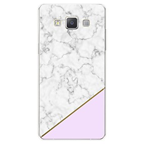 voordelige Galaxy A7(2016) Hoesjes / covers-hoesje Voor Samsung Galaxy A3 (2017) / A5 (2017) / A7 (2017) Patroon Achterkant Marmer Zacht TPU