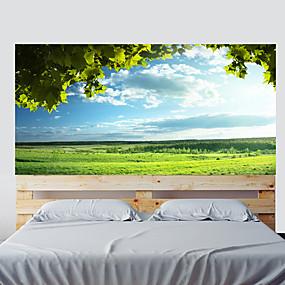 رخيصةأون ملصقات ديكور-مناظر طبيعية النباتية ملصقات الحائط لواصق لواصق حائط مزخرفة, الفينيل تصميم ديكور المنزل جدار مائي جدار