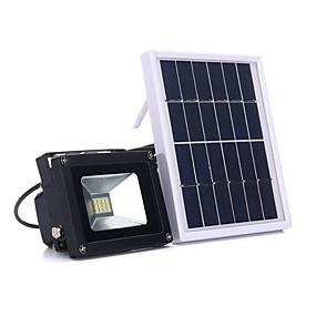 Χαμηλού Κόστους Ηλιακά φώτα LED-1pc 5 W LED Προβολείς Αδιάβροχη / Διακοσμητικό / Έλεγχος φωτισμού Ψυχρό Λευκό <5 V Εξωτερικός Φωτισμός 12 LED χάντρες