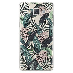 voordelige Galaxy A8 Hoesjes / covers-hoesje Voor Samsung Galaxy A3 (2017) / A5 (2017) / A7 (2017) Patroon Achterkant Landschap Zacht TPU
