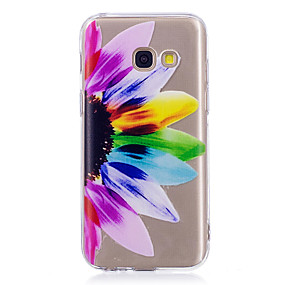 voordelige Galaxy A3(2016) Hoesjes / covers-hoesje Voor Samsung Galaxy A3 (2017) / A5 (2017) / A5(2016) IMD / Patroon Achterkant Mandala / Transparant Zacht TPU