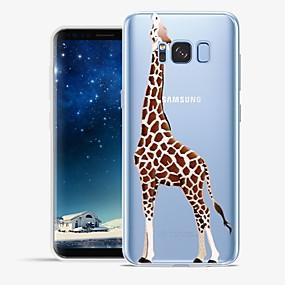 voordelige Galaxy S6 Edge Plus Hoesjes / covers-hoesje Voor Samsung Galaxy S8 Plus / S8 / S7 edge Patroon Achterkant dier / Cartoon Zacht TPU