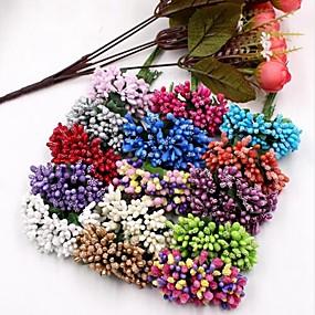 olcso Művirágok-Művirágok 12 Ág Esküvő Növények Asztali virág