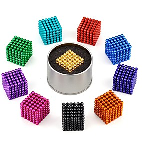 povoljno Igračke i razonoda-216 pcs Magnetne igračke Magnetske kuglice Snažni magneti Clasic Stres i anksioznost reljef Fokus igračka Uredske stolne igračke Oslobađa ADD, ADHD, Anksioznost, Autizam Uradi sam Igračke za kućne