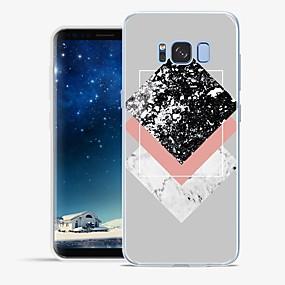 voordelige Galaxy S6 Edge Plus Hoesjes / covers-hoesje Voor Apple / Samsung Galaxy S8 Plus / S8 / S7 edge Patroon Achterkant Marmer Zacht TPU