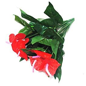 levne Umělé květiny-Umělé květiny 1 Větev Moderní Věčné květy Květina na stůl